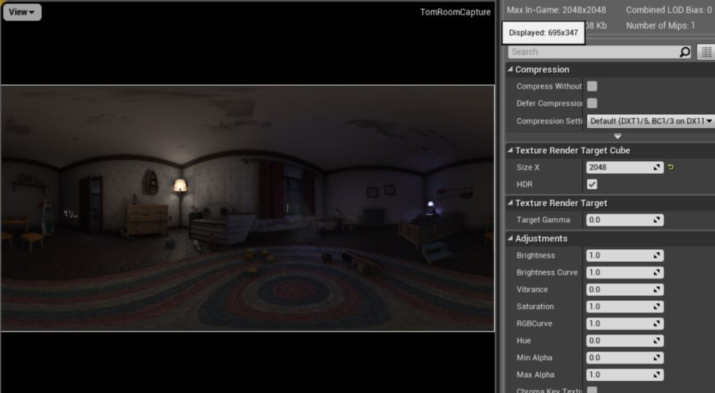 Unreal Engine to Sketchfab, Panoramic Environment Tutorial